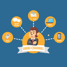 Business Monkey Circle Omni Channel