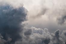 The Rain Clouds Made The Sky Darkens.