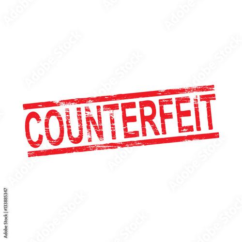 Valokuva  Counterfeit Rubber Stamp