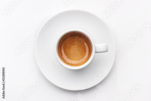 Photo  espresso coffee