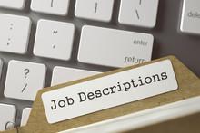 Folder Index Job Descriptions....