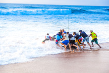 Jetski Fishermen Launch A Pers...