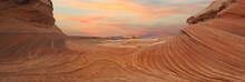 Sunset New Wave Glen Canyon National Monument