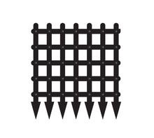 Vector Image Of A Portcullis/castle Gate