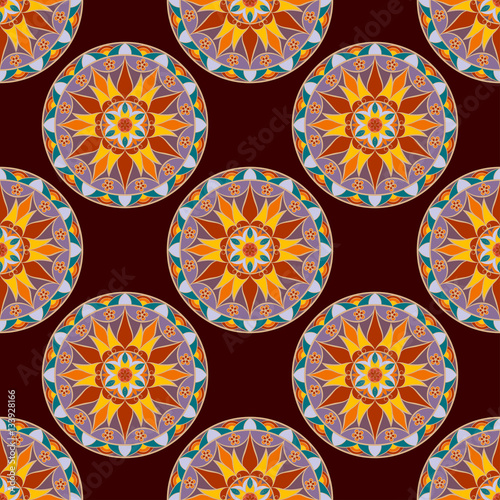 seamless-floral-mandala-pattern