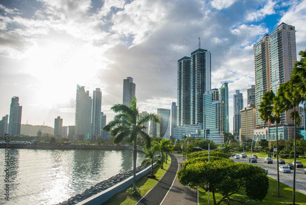 Fototapety, obrazy: Panama Skyline