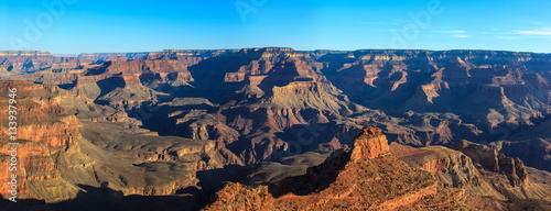 Staande foto Canyon Panoramic of Grand Canyon, south rim.