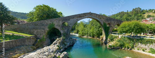 Roman bridge of Cangas de Onis