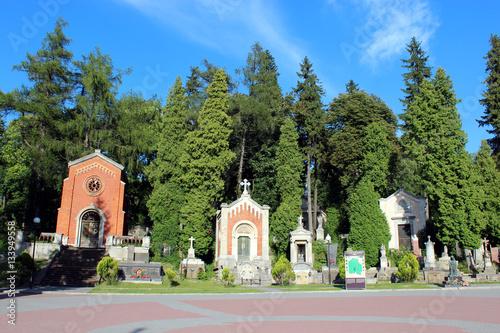 Photo sur Toile Cimetiere Lychakiv Cemetery in Lviv