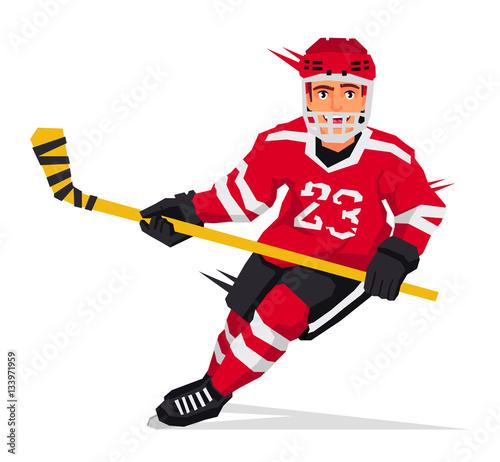 gracz-w-hokeja-z-kijem