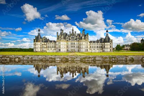 Staande foto Kasteel Chateau de Chambord castle. Loire valley. France