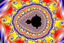 Mandelbrot-Fraktal (Ausschnitt)