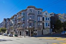 CORNER HOUSE IN SAN FRANCISCO, California, United States