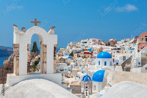 Papiers peints Santorini View of Oia village. Santorini, Greece