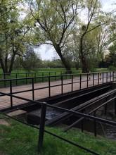 Drewniany Most Dla Pieszych