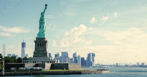 Foto op Aluminium New York Panorama on Manhattan, New York City