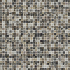 Fototapeta Large square seamless texture of mosaic tiles 07