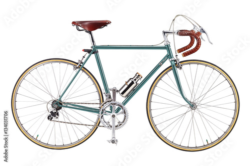 Fotobehang Fiets Road bike, vintage roadbike