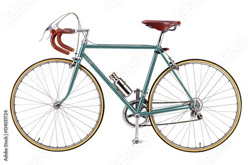 Deurstickers Fiets Road bike, vintage roadbike