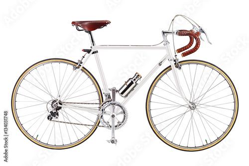 In de dag Fiets Road bike, vintage roadbike