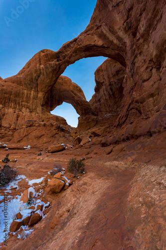 Fotobehang Natuur Park Arches National Park in Utah