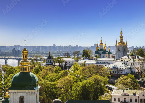 View of the Kiev-Pechersk Lavra, Kiev, Ukraine