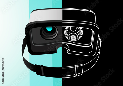 vr headset icon set buy this stock template and explore similar