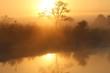 Sonnenaufgang über Afrika