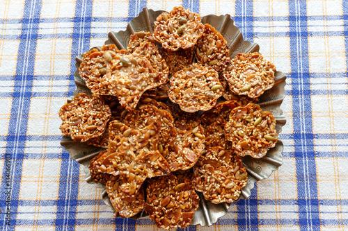 Florentine cookies Fototapeta