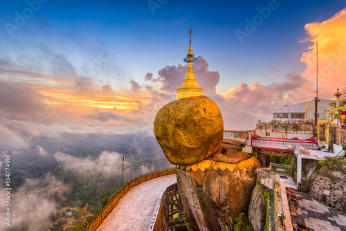 фотография Goldeon Rock Myanmar