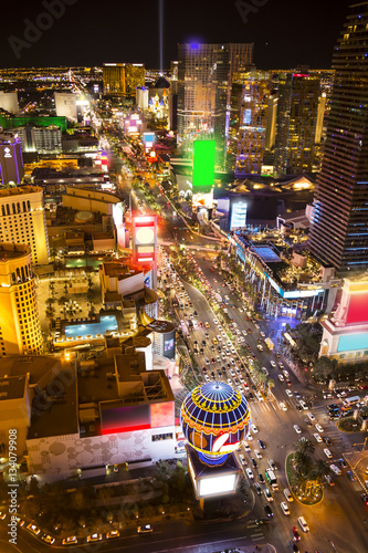 Fotobehang Las Vegas Vegas night