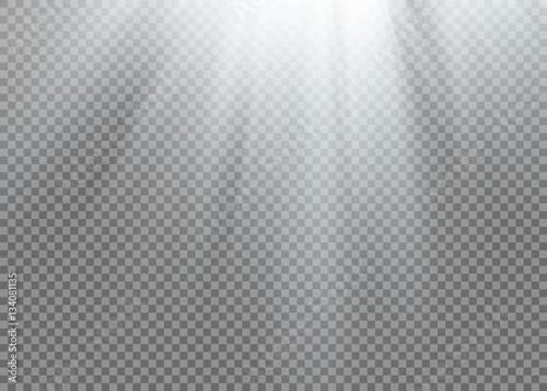 Fototapeta Vector spotlight. Light effect obraz