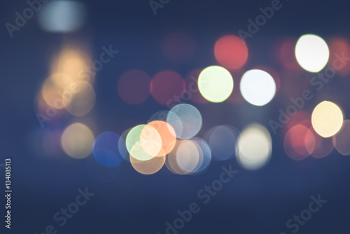Fotografie, Obraz  background blurred bokeh. Lights Ceremonies