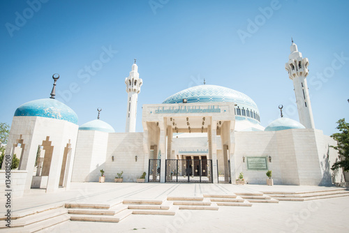 Photo Arabic mosque in Amman Jordan