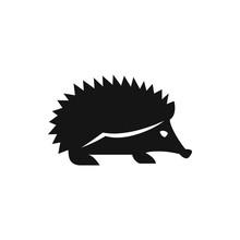 Hedgehog Icon Illustration