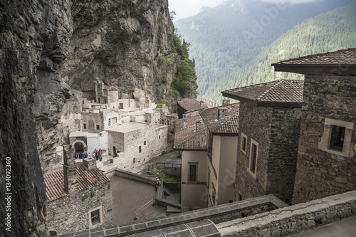 Fototapeta  Sumela Monastery in Trabzon,Turkey. Sumela is 1600 year old anci
