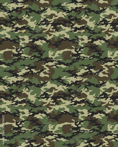 Fotografía  Fashionable camouflage pattern, military print