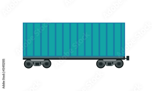 Fotografie, Obraz  Freight Car Icon