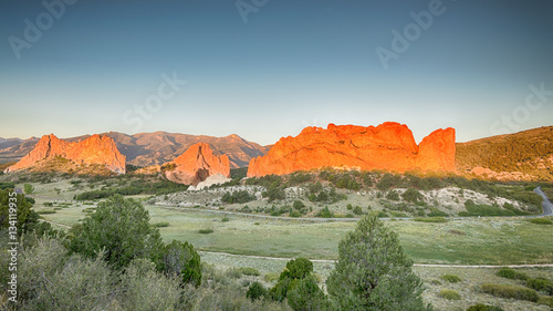 Photo  South Gateway, Signature, North Gateway, Kissing Camels, Tower O