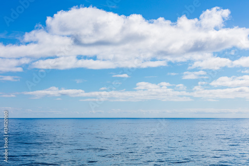 Fotografering  Himmel und Meer