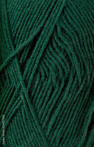 Photo  close up of knitting yarn