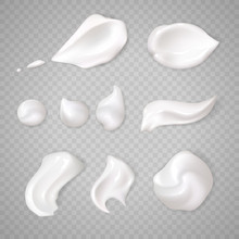 White Cream Elements