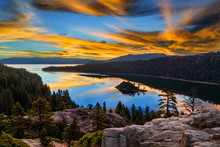 Emerald Bay, South Lake Tahoe,...