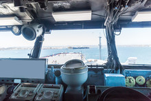 Old Battleship Control Panel