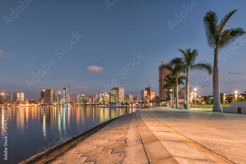 Luanda's waterfront Canvas Print