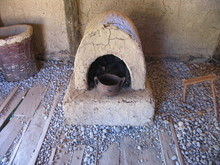 Ancient Neolithic House -Ohrid ,Macedonia