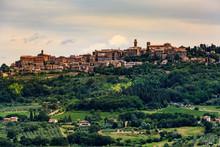 Montepulciano In The Region Of...