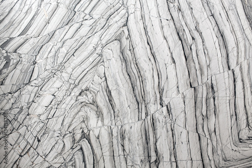 Canvas Prints Marble Gray marble texture abstract background pattern.