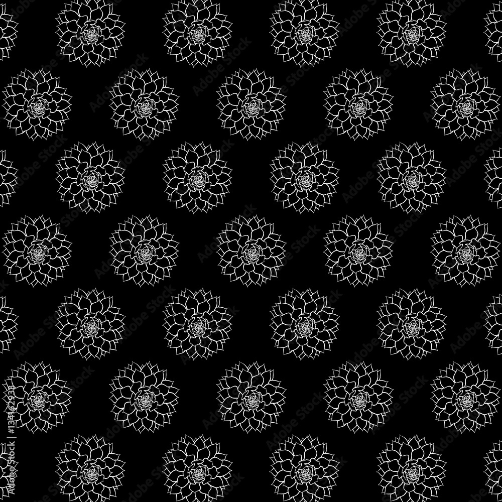 Photo Art Print Simple Floral Background Europosters