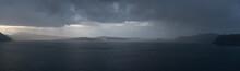 Rainy Weather Panorama Over Th...